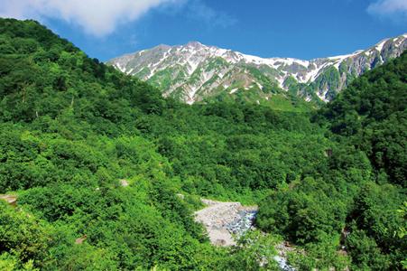 北アルプスの最北端!朝日岳~雪倉岳~日本三大雪渓 白馬大雪渓白馬岳の縦走3日間の旅