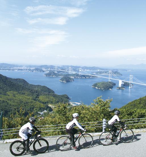 美しい海や島を眺めながらサイクリストの聖地・しまなみ横断弾丸ツアー