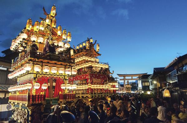 豪華絢爛!ユネスコ無形文化遺産 「秋の高山祭り」日帰り旅 〜一度は見てみたい!日本三大美祭りのひとつ「八幡祭」〜
