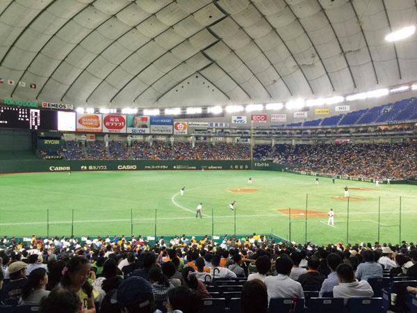 新幹線で行く!熱戦・闘魂こめて!この臨場感は球場でしか味わえない!伝統の一戦 東京ドーム 巨人vs阪神