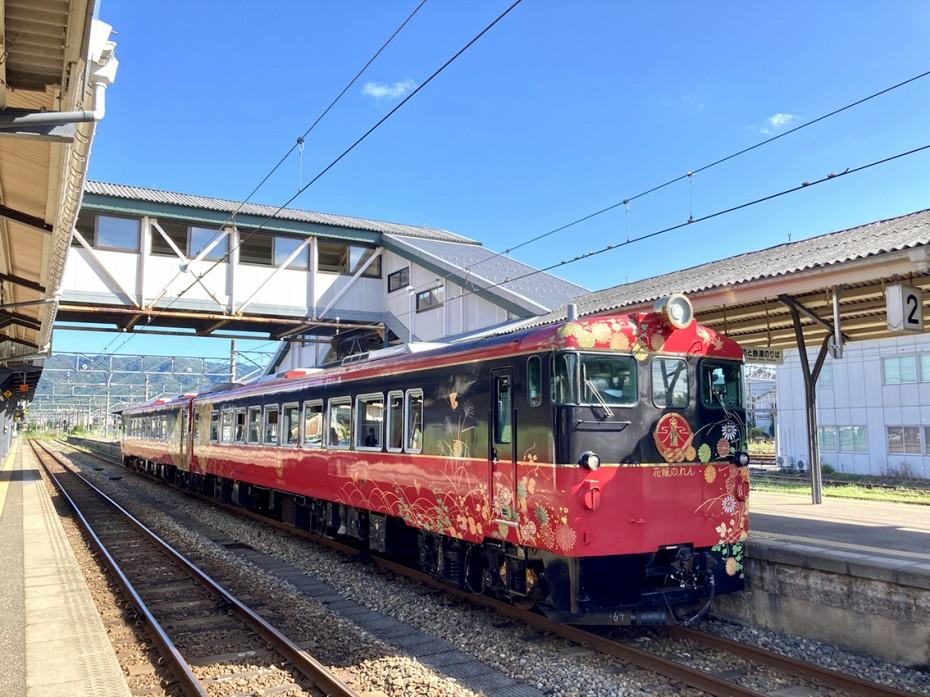 七尾線観光列車「花嫁のれん」乗車の旅