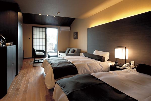 【Stay Toyama】地元で泊まろう!県民割引キャンペーン対応「立山連峰の宿 ホテル森の風立山 四季彩露天風呂付ツインルーム」