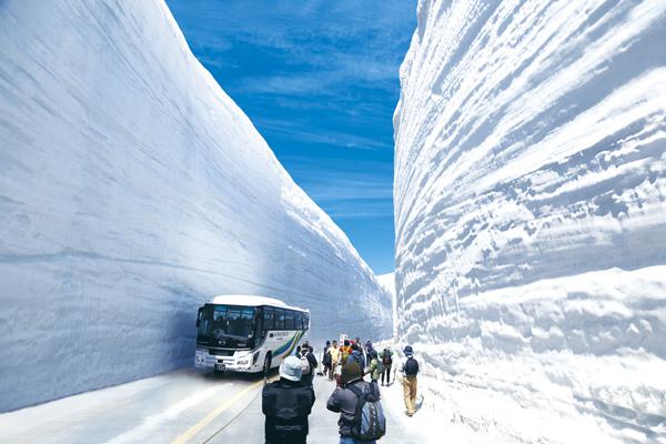 ふるさと富山再発見ツアー GW企画!親子で行こう! 日帰り雪の大谷ウォーク